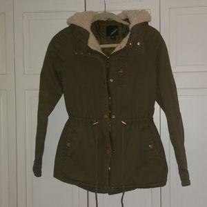 Women's Utility Jacket with Fleece